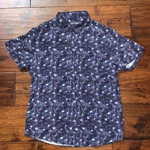 Slate & Stone Space Design Button Up